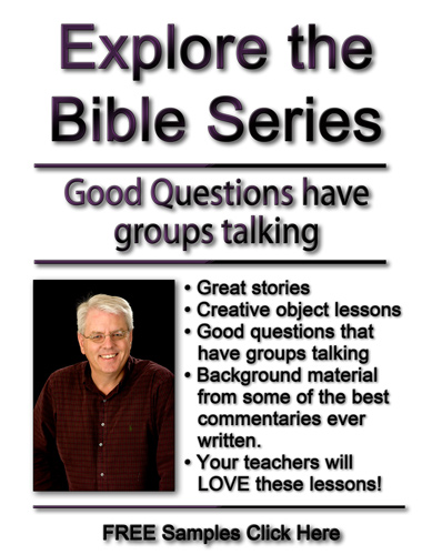 Explore the Bible Sunday School Lessons