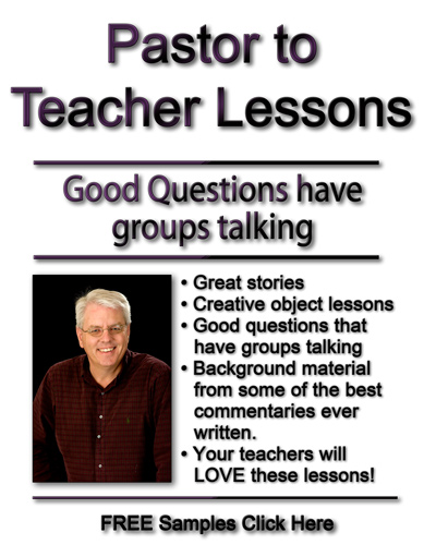 Pastor to Teacher Lessons